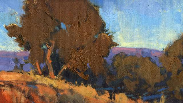 """Winter Arroyo"" A Painting Demonstration with Bill Gallen"