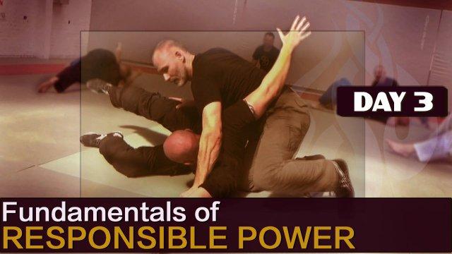 Fundamentals of Responsible Power - Belgium 2016 - Day 3 - STRIKING