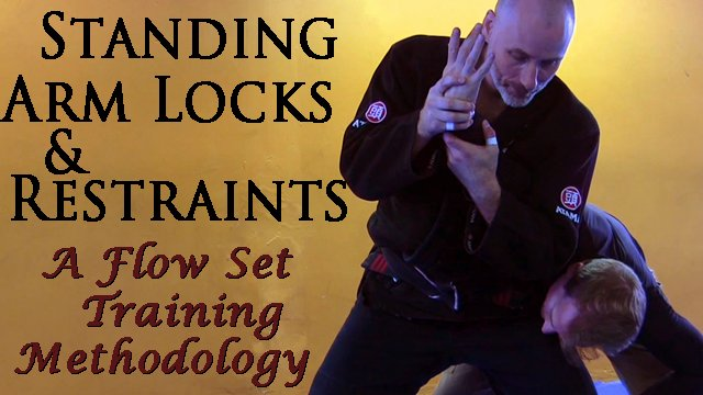 Standing Arm Locks & Restraints - A flow set training methodology