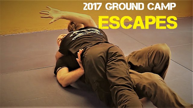 2017 Ground Camp Day 2-Escapes