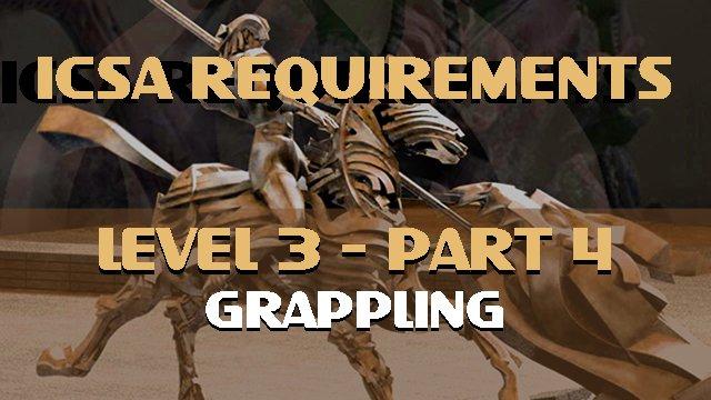 ICSA Requirements-Level 3-Part 4-GRAPPLING