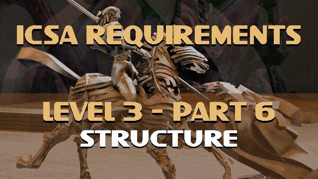 ICSA Requirements-Level 3-Part 6-Structure