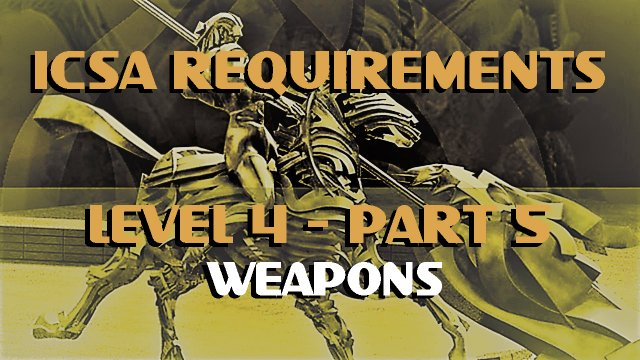 ICSA-Requirement-Level 4-Part 5-WEAPONS