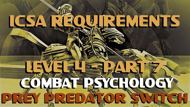 ICSA-Requirement-Level 4-Part 7-PREY PREDATOR SWITCH