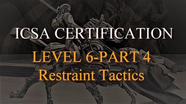 ICSA Level 6 Module 4 Grappling