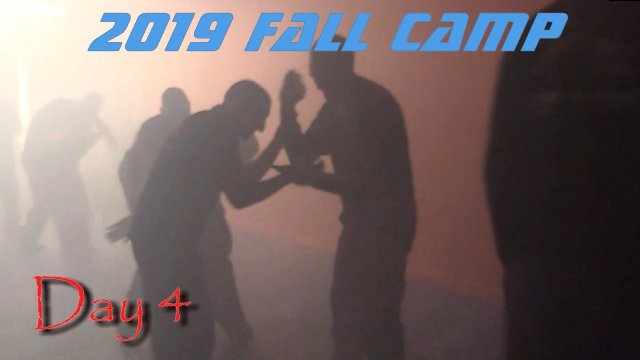 Fall 2019 Restraint and Control Camp Day 4: Chaos Training