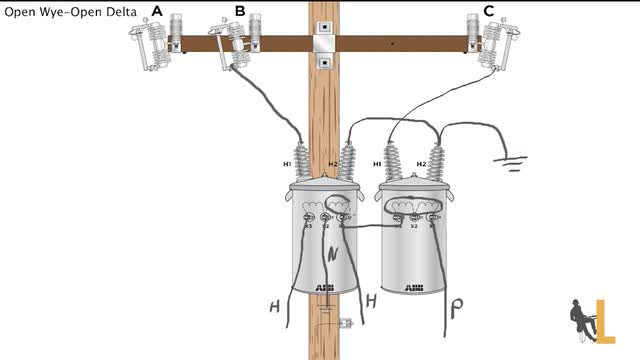 Three Phase Y Delta Configurations as well Phaseconverter deltawye likewise Transformers further Using potential transformers also 12 Leads Terminal Wiring Guide For Dual. on 480 volt wye configuration