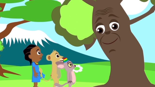 Akili and the Magic Tree - Letter E and Memorizing Numbers
