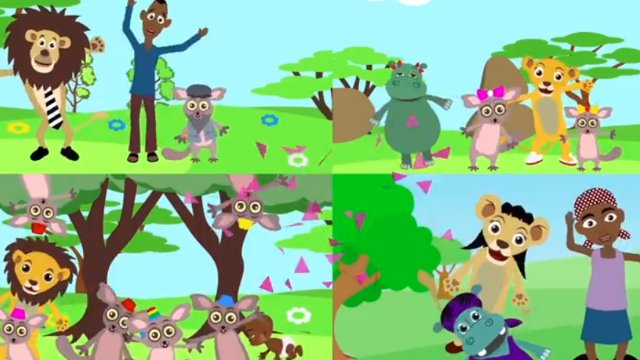 Akili and the Animal Families - Letter B and Count Circles 1-10
