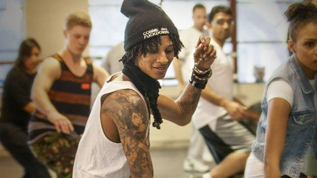 Les Twins 2013 Workshop at City Dance : Both Larry and Laurent