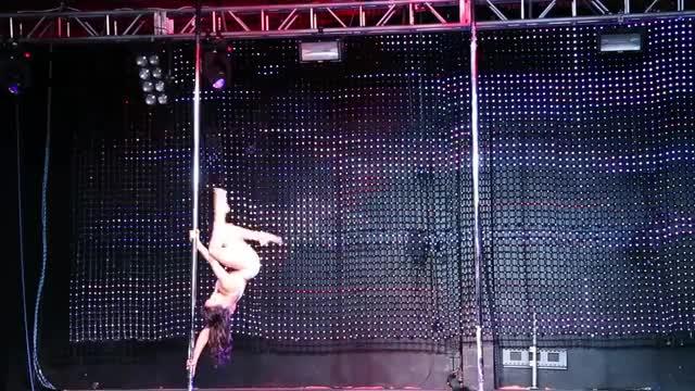 """Sergia California Pole Dance Championships """"Concrete Wall"""""""