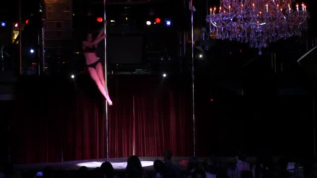 "California Pole Dance Championships 2013,""A Night at the Saloon"" Katherine"