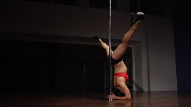 Classic Pole w/Jen: Forearm Stand
