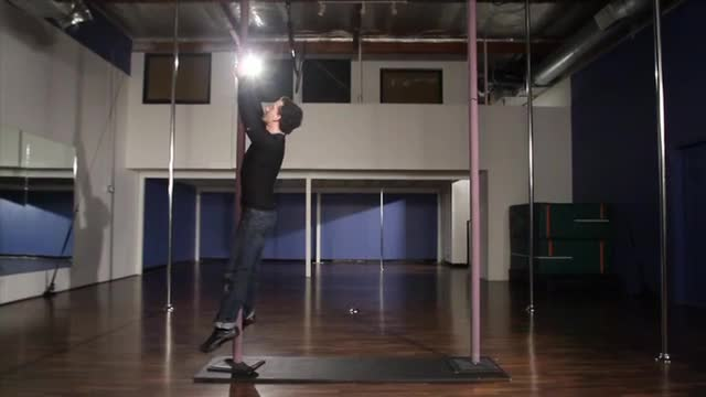 Chinese Pole w/Kujo: Swing Climb
