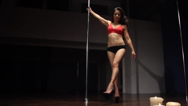 Classic Pole w/Jen: Double Stag Back Spin