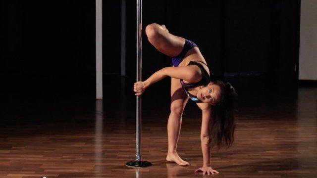Handstand Hop Over