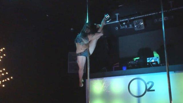 "Pole Dance Academy Xmas Party, Australia, ""My Superman"" Sergia"
