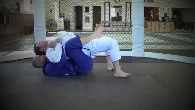 BJJ Ronin Bear Trap from Belly Up Back Mount