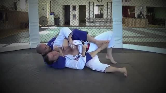 BJJ Ronin Drag Sweep from Butterfly Guard