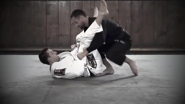BJJ Ronin Kick Through Arm Bar to Triangle