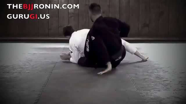 BJJ Ronin Scissor Back Take