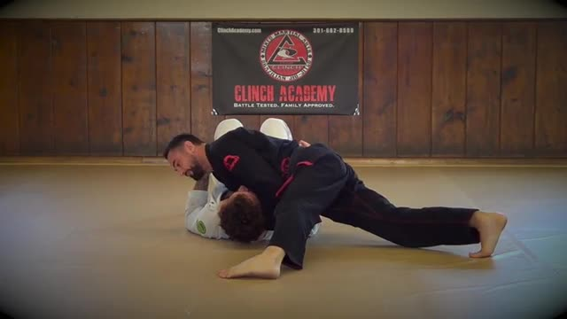 Bjj Technique # 91 Bat Choke from Knee on Belly