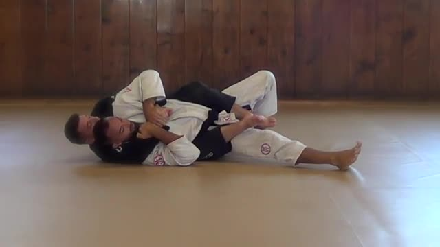 BJJ Technique # 29 Back Mount Escape - High Side