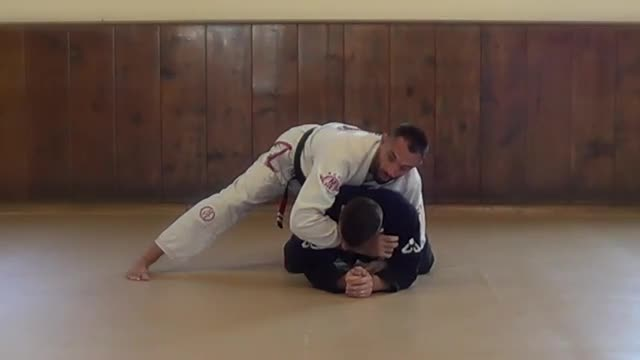 BJJ Technique #38 Clock Choke