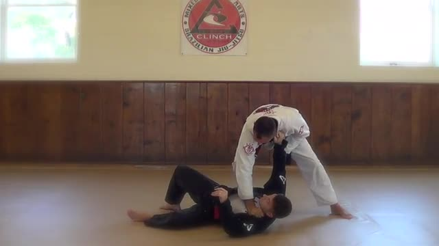 BJJ Technique #5 Outside Back Sweep
