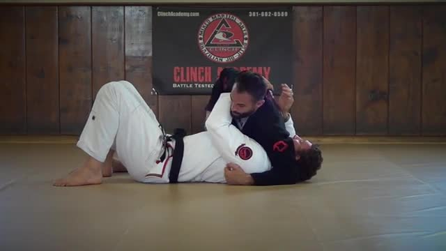 BJJ Technique # 94 Ninja Choke from Crossbody