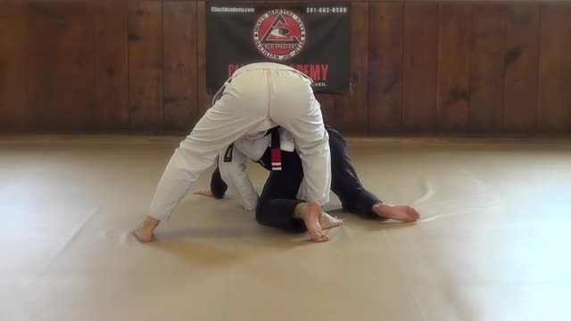 BJJ Technique #77 Head Spin To Leg Hook