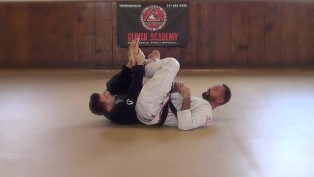 BJJ Technique # 160 Calf Slicer Escape