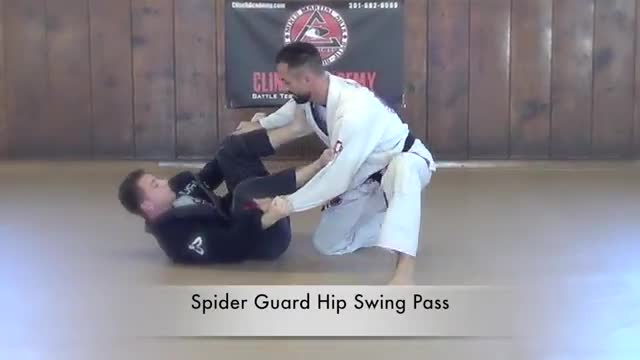 BJJ Curriculum Guard Passes