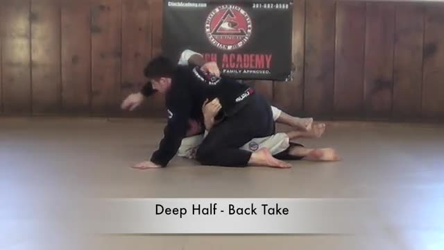BJJ Curriculum Half Guard Sweeps
