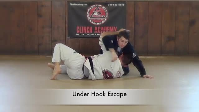 BJJ Curriculum Cross Body Escapes