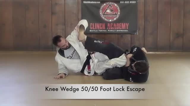 BJJ Curriculum Leg Lock Escapes