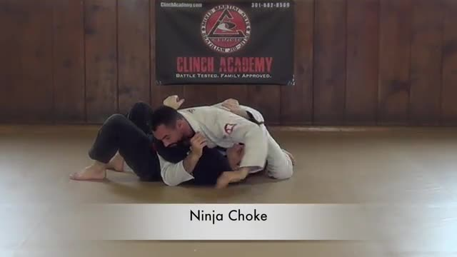 BJJ Curriculum Submissions from Crossbody