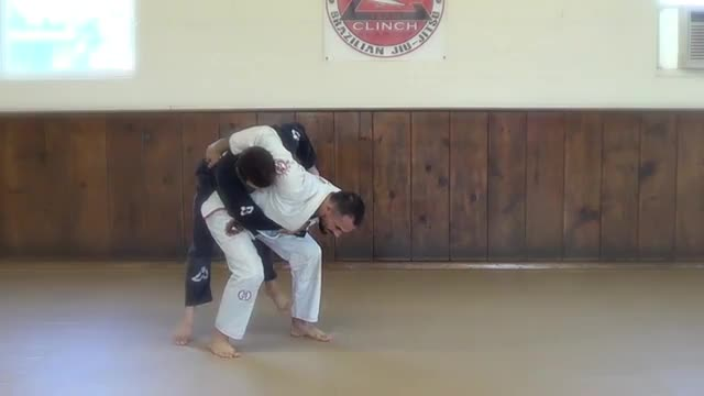 BJJ Technique #100 Hip Throw