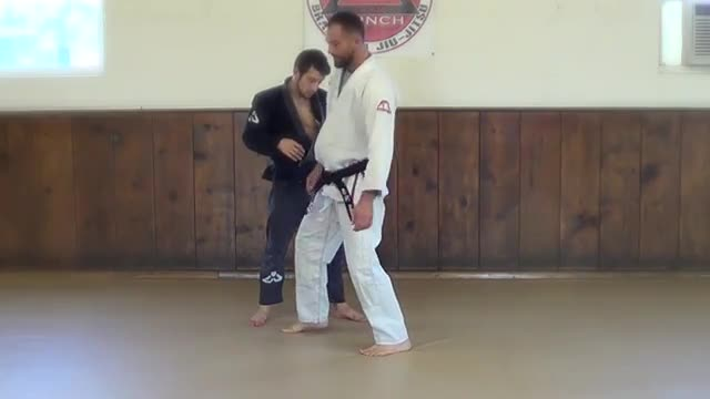 BJJ Technique #101 Shoulder throw Takedown