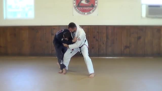 BJJ Technique #146 Inside Foot Sweep