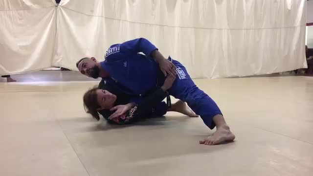 Brabo Choke to Guillotine from Side Control