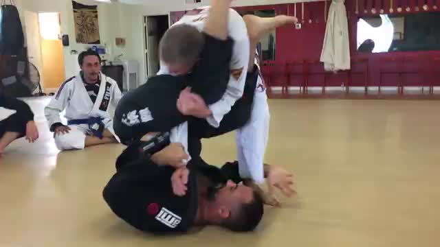 Arm Bar to Knee Bar Combo from Closed Guard plus Star Sweep