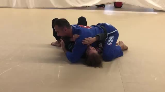 Head & Arm Choke from Side Control with various continuations