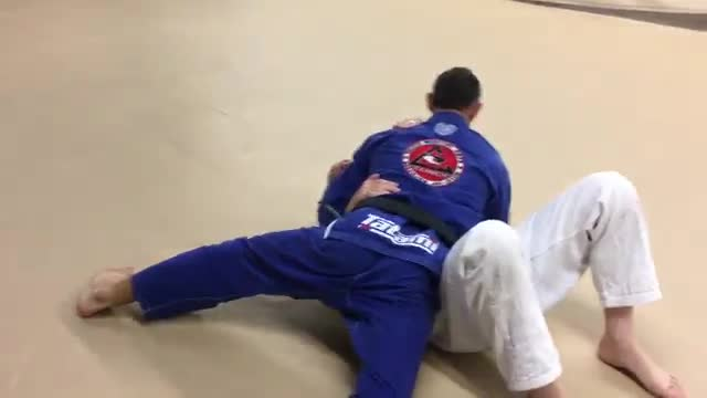 Straight Ankle Lock from Side Control