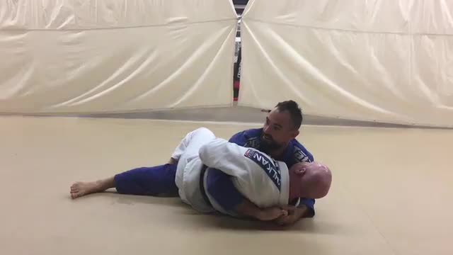 Hook Sweep from Half Guard