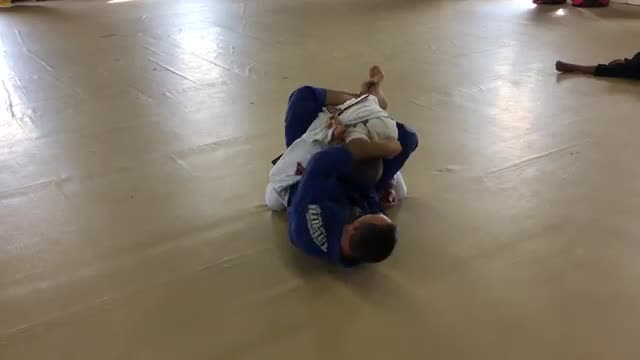 Rodeo Guard Lesson #5 Phase 2 Entry  to Modified Cross Choke