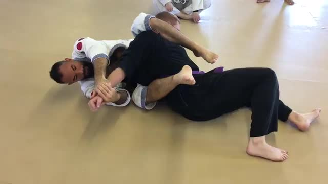 Rodeo Guard Lesson #6 Armbar Entry / Wishbone Submission / Defense to opponent sitting in