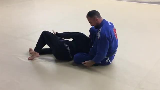 Rainbow Sweep & Back Take from Half Guard Knee Shield