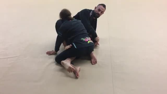 Kimura from Half Guard Knee Shield