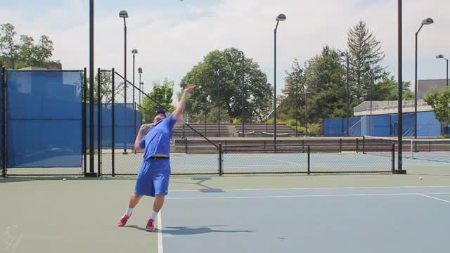 Kick Serve Visualization Sequence